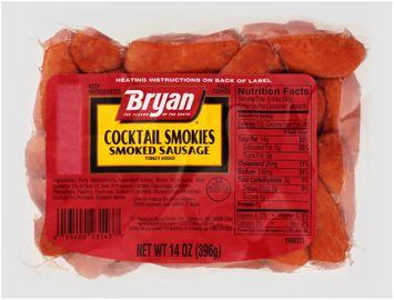 Bryan® Cocktail Smokies Smoked Sausage