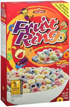 Springfield® Fruit Rings® Sweetened Multi-Grain Cereal