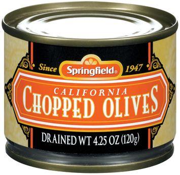 Springfield Chopped California Olives