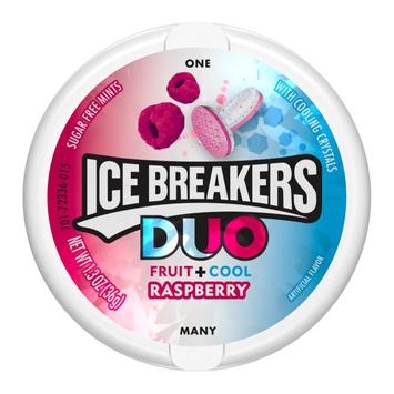 ICE BREAKERS DUO MINTS RASPBERRY