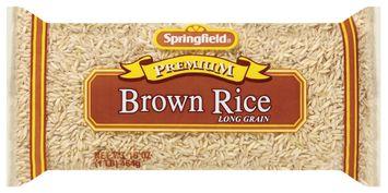Springfield Brown Long Grain