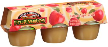 Indian Summer® Fruitmates™ Natural Apple Sauce
