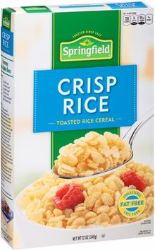 Springfield® Crisp Rice Toasted Rice Cereal