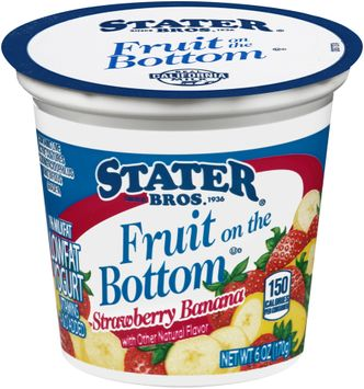 Stater bros® Fruit on the Bottom Low Fat Strawberry Banana Yogurt