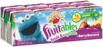 Apple & Eve® Sesame Street® Fruitables™ Berry Banana Fruit & Vegetable Juice