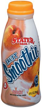 Stater bros Peach Fruit Smoothie