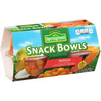 Springfield® Papaya Snack Bowls