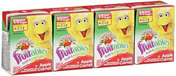 Apple & Eve® Sesame Street® Fruitables™ Apple Carrot Fruit & Vegetable Juice