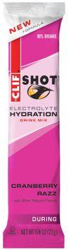 CLIF Shot® Electrolyte Hydration Cranberry Razz™ Drink Mix