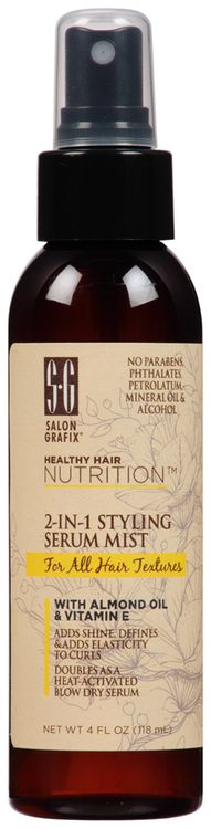 Salon Grafix® Healthy Hair Nutrition™ in Styling Serum Mist for All Hair Textures