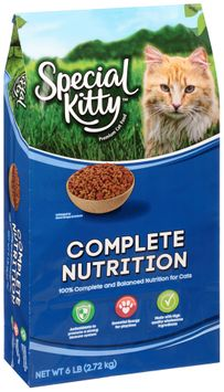 special kitty™ complete nutrition dry cat food