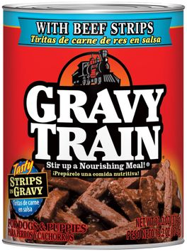 Gravy Train Chunks In Gravy With Lamb and Rice Chunks Wet Dog Food, 13.2-Ounce Can