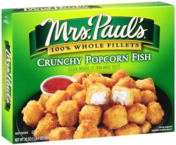 mrs Paul's® 100% Whole Fillets Crunchy Popcorn Fish