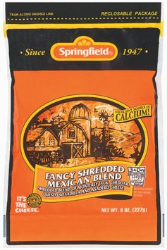 Springfield Fancy Shredded Mexican Blend Cheese