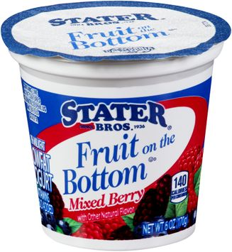 Stater bros® Fruit on the Bottom Mixed Berry Yogurt