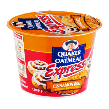 Quaker® Instant Oatmeal Express Cinnamon Roll