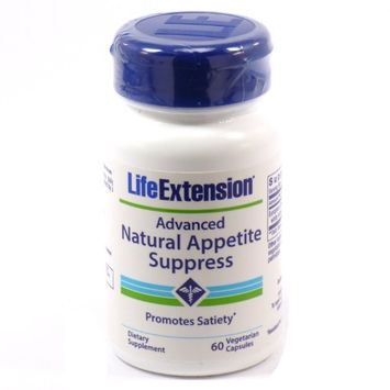 Life Extension Advanced Natural Appetite Suppress 60 Vegetarian Capsules