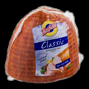 Hatfield Hardwood Smoked Classic Boneless Half Ham