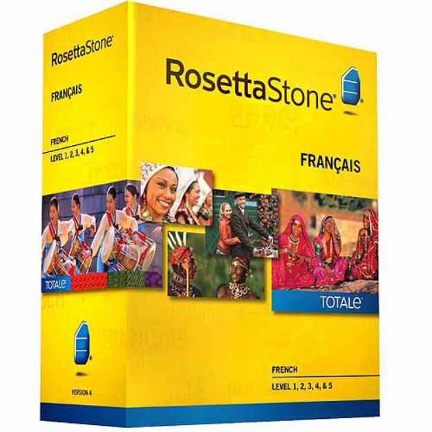 ROSETTA STONE Rosetta Stone French Version 4, Level 1-5