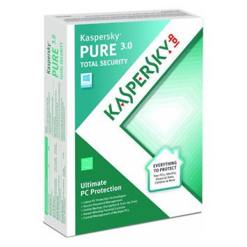 Navarre Kaspersky PURE 3.0 Security Software, 3 PCs