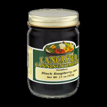 Lancaster Canning Company Seedless Black Raspberry Jam