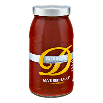 Bobby D's Smooth Red Ma's Red Sauce