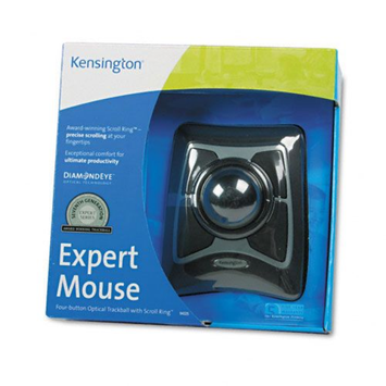 Kensington Expert Mouse 64325 Trackball - Optical - USB, PS/2