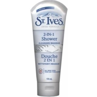 St. Ives 2-In-1 Shower Cleanser Masque