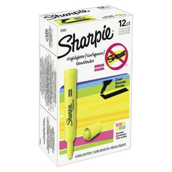 Sharpie Accent Tank Style Chisel Tip Highlighter - Assorted (Set of