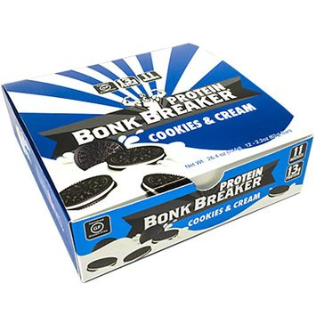 Bonk Breaker Protein Bars - Box of 12 (Cookies and Cream)