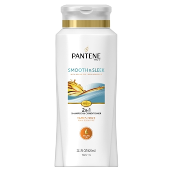 Pantene Pro-V Smooth & Sleek 2-in-1 Shampoo & Conditioner