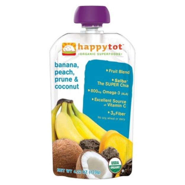 Happy Tot HappyTot - Banana, Peach, Prune & Coconut 4.22 oz
