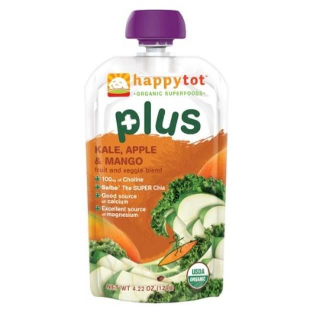 Happy Tot Plus - Kale, Apple, & Mango 4.22 oz
