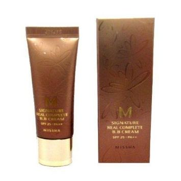MISSHA M Signature Real Complete B.B BB Cream #23 Natural Yellow Beige SPF25 PA++ (20g)