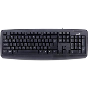 Genius 3130071138 KB-110X USB Desktop Keyboard, Black