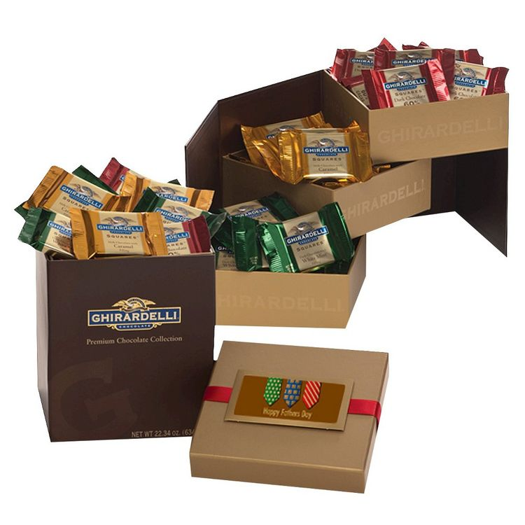 Ghirardelli Chocolate Congrats to the Grad 3-Tier Gift Tower