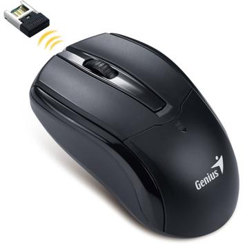 Genius 31030100101 NS-6005 Wireless Optical Mouse, Black