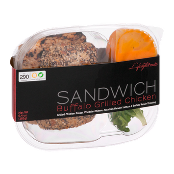 Lifestyle Foods Sandwich Buffalo Grilled Chicken