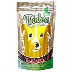 Plato Pet Treats - Thinkers Dog Treats Duck Sticks - 10 oz.