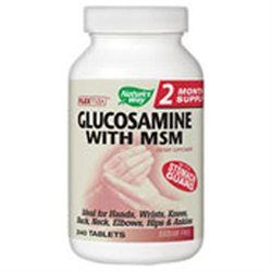 tures Way Nature's Way FlexMax Glucosamine with MSM - 240 Tablets