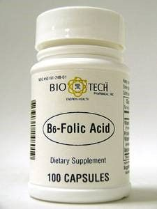 B6-Folic Acid 100 caps by Bio-Tech