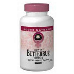 Source Naturals Urovex Butterbur Extract - 50 mg - 30 Softgels