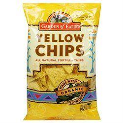 GARDEN OF EATIN Organic Yellow Tortilla Chips 19 OZ