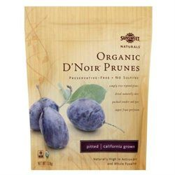 Sunsweet Naturals - Organic D'Noir Prunes Pitted - 7 oz.