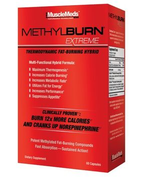 Muscle Meds Methylburn Extreme, 60-count