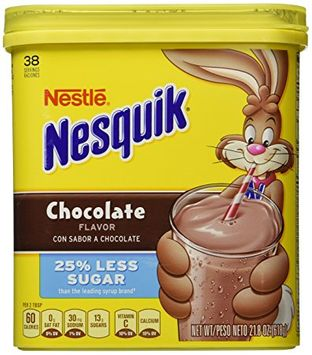 Nesquik® 25% Less Sugar Chocolate Flavor Powder