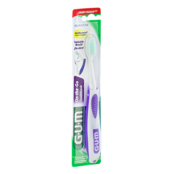 GUM On-the-Go Soft Toothbrush
