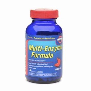 GNC Preventive Nutrition Multi-Enzyme Formula, Vegetarian Capsules, 90 ea