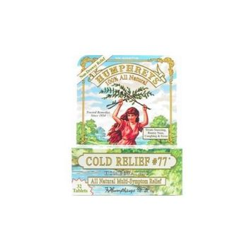 Humphrey's Homeopathic Remedy HUMPHREYS, COLD RELIEF-#77 - 32 TAB