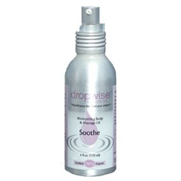 Dropwise Essentials Certified Organic Body & Massage Oil - Divine Aromatherapy Blend